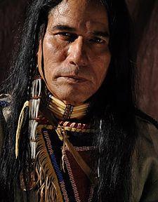 John Dzedzy, Native American,Roger Crazywolf, modeling