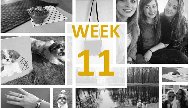 Week 11: Cowboysbag, choco & blauwe nagels