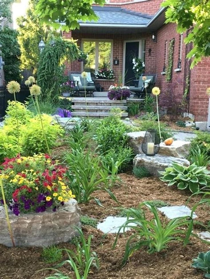 42 Best Front Yard Landscaping Ideas on a Budget Low ...