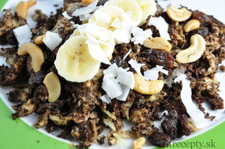 Banánovo kakaová praženica - FitRecepty