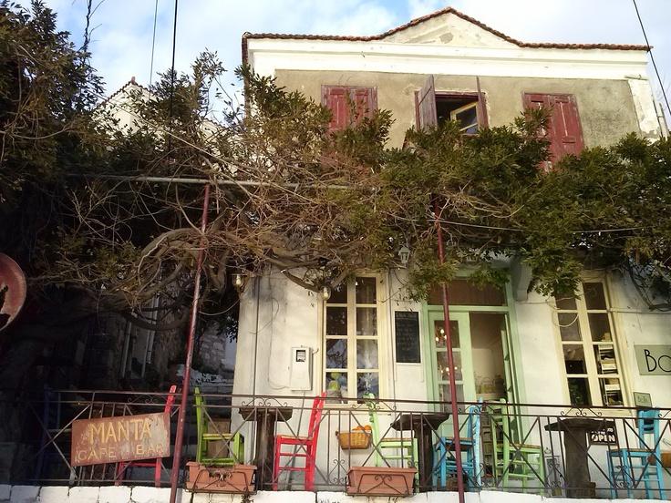 Cafe, art, Molyvos, Mytilene-Lesvos