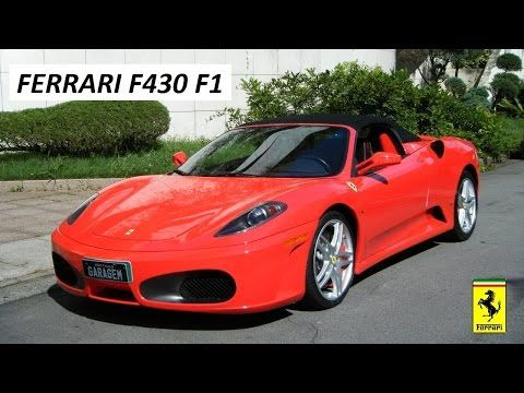 Garagem do Bellote TV: Ferrari F430 Spider F1 - http://webjornal.com/5382/garagem-do-bellote-tv-ferrari-f430-spider-f1/