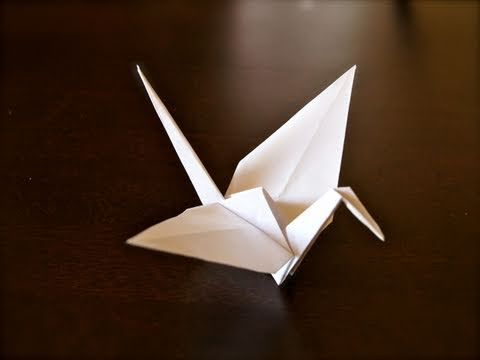 video instructionsFolding Paper, Paper Cranes, Origami Paper, Origami Cranes Tutorials, Origami Tutorials Cranes, Paper Art Crafts, Videos Tutorials, Origami Crafts, Printer Paper