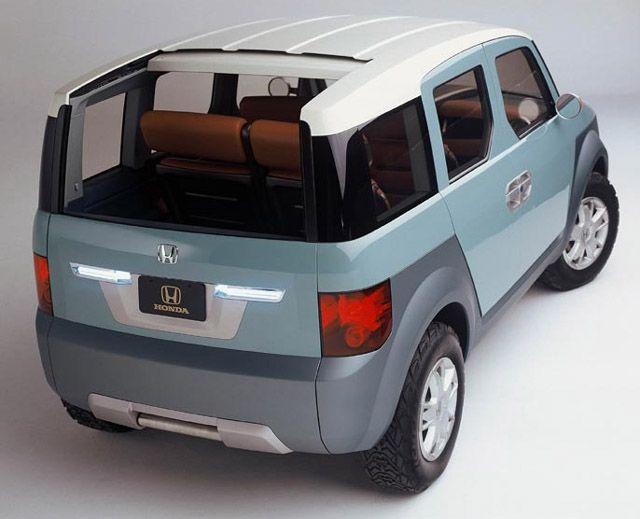 Anyone Look At The Original Element Concept Lately Honda