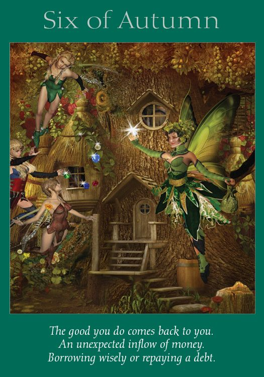 Oracle Card Six of Autumn | Doreen Virtue | official Angel Therapy Web site