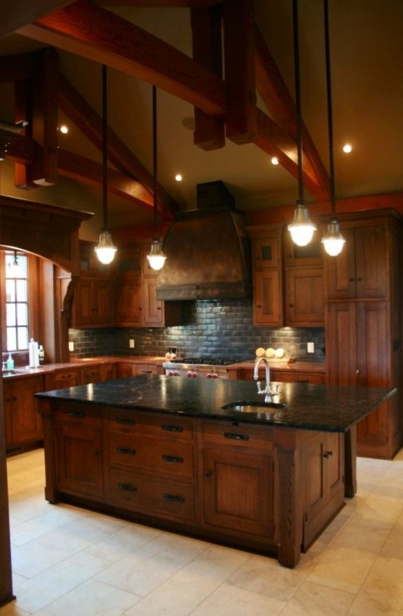 cherry wood kitchen cabinets with black granite 1000 ideas about cherry wood cabinets on 9804