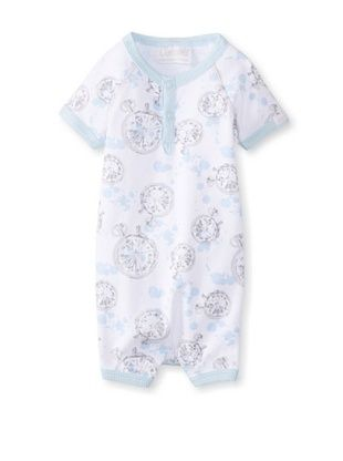 61% OFF Coccoli Baby Newborn Time To Dream Romper (Light Blue Compass Print)