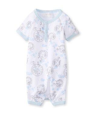 61% OFF Coccoli Baby Newborn Time To Dream Romper (Light Blue Compass Print)