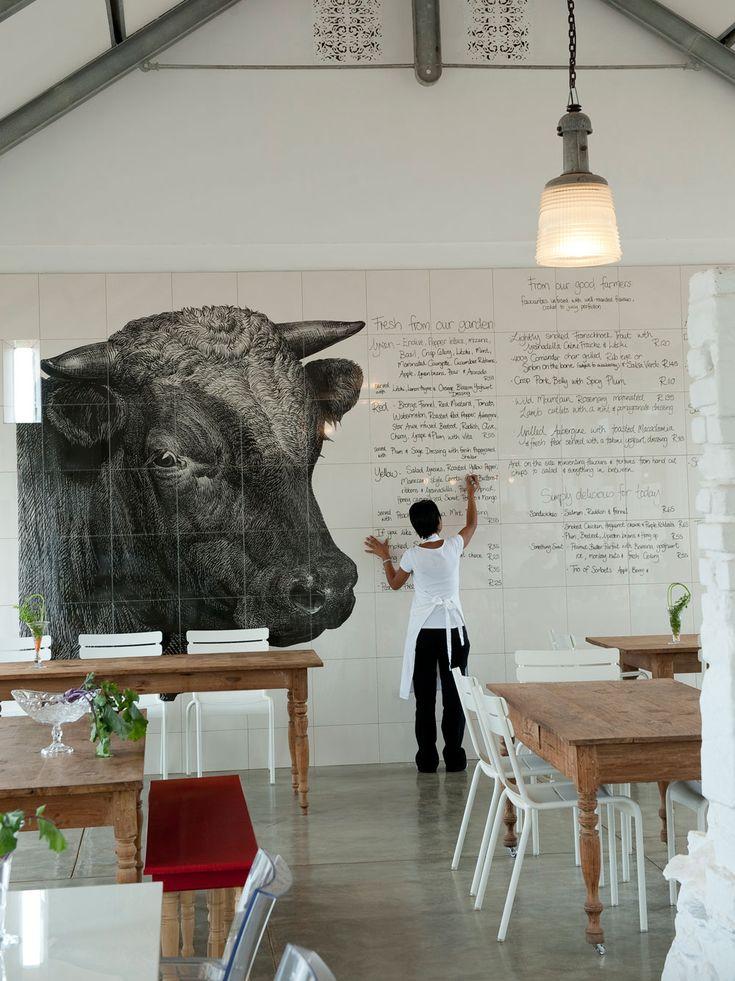 Fabulous farm hotel! Babel Restaurant @ Babylonstoren Hotel, Cape Winelands, South Africa