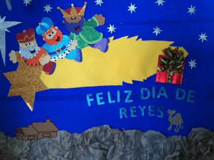 M s de 20 ideas fant sticas sobre periodico mural enero en pinterest que es periodico mural - Ideas para reyes ...