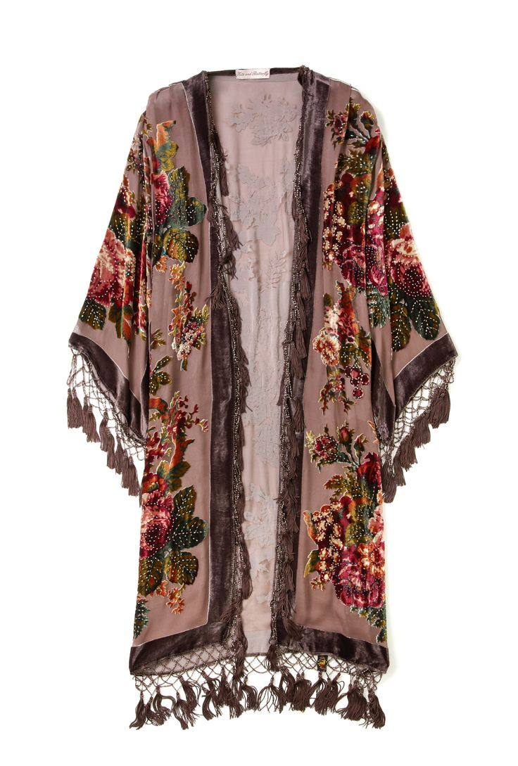 English Rose Devore Jacket by Kite and Butterfly