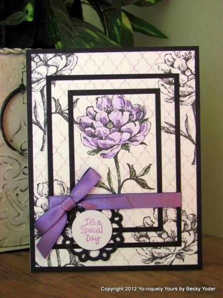 Triple Stamped Birthday by pbft - Cards and Paper Crafts at Splitcoaststampers