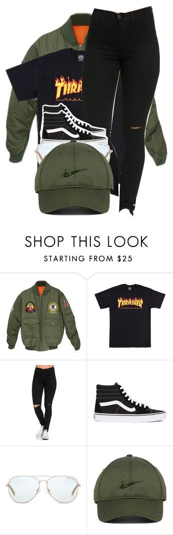 """""""Haven't been on here so long but happy New Years"""" by lonna19thuggin ❤ liked on Polyvore featuring Vans, Michael Kors and NIKE"""