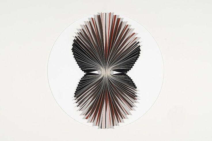Karen Woodbury Gallery | Exhibitions | Marion Borgelt | Full Circle Red