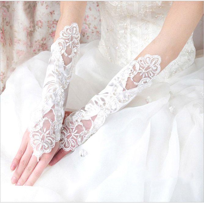 2014 весной вышитые крещендо белые длинные кружевные женился на люси относится к перчатки свадебные аксессуары
