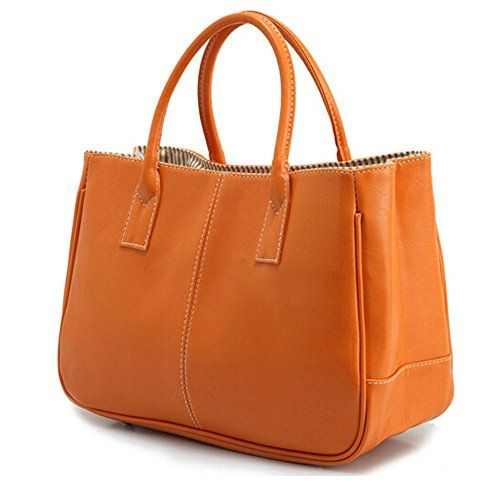 DELEY Mode F/éminine Simple Business Design Top Handle Bag Sac /À Main Bureau Dames