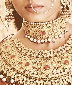 Jodha Akbar Aishwarya Rai Mughal style jewellery set