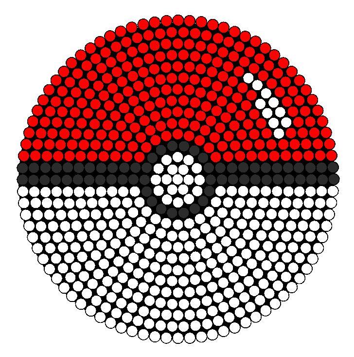 Easy Pony Bead Patterns Pokemon
