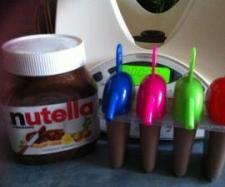 Nutella ice lollies