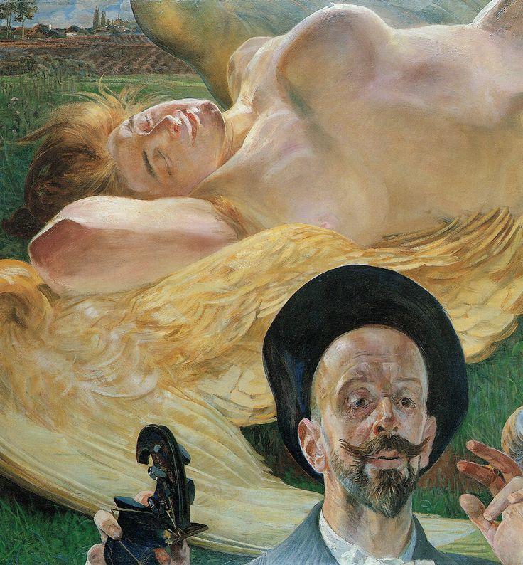 Jacek Malczewski – harpia we śnie, chwila tworzenia i czarny kapelusz