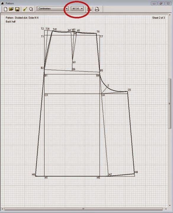 Patrón gratis: falda pantalón culotte para todas las tallas ...