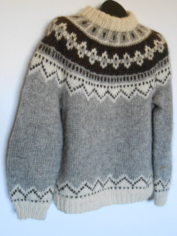 Baggy Wool Sweaters