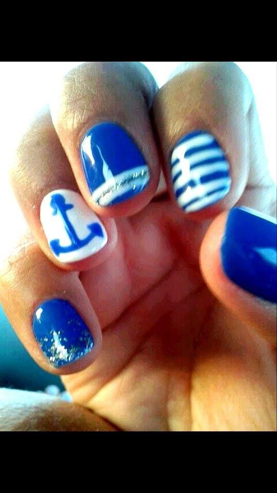 Blue,Navy,White stripes