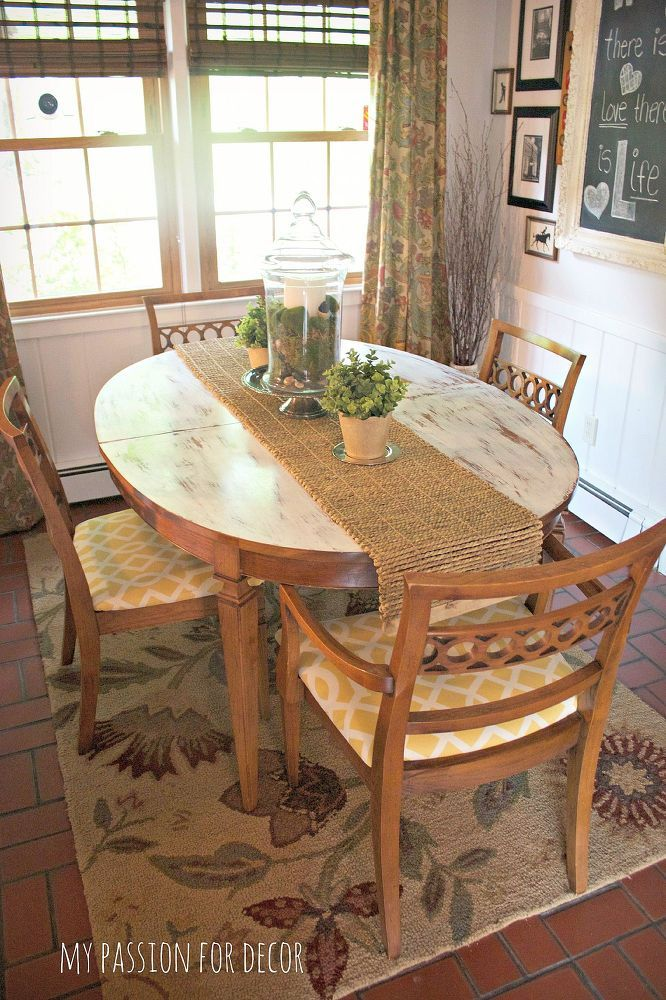 Kitchen tables tend to get a lot of wear and tear - bring yours back from the brink with THIS