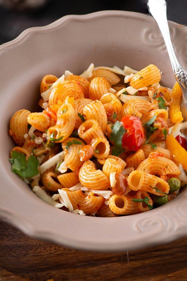 Spicy Macaroni Recipe Pasta Indian Style Recipe Veg Macaroni