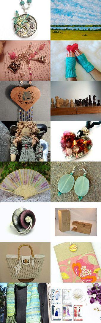 Gifts Ideas!!! - 1 - by Carmela Gulino on Etsy--Pinned+with+TreasuryPin.com