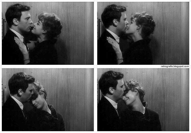 Jean-Louis Trintignant, Romy Schneider. Portrait of Romy schneider in Otley directed by Dick Clement, 1968