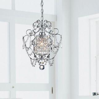 chrome finish 4light round chandelier 4light round chandelier clear