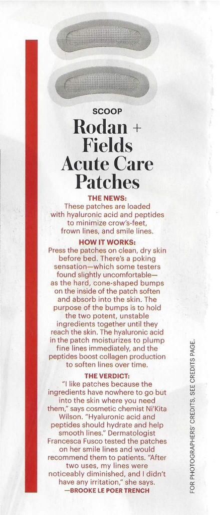Rodan + Fields skincare Allure magazine, December 2014 Acute Care contact me on how to get Acute Care for you! www.chandariley.myrandf.com
