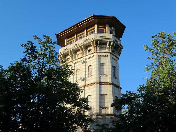 The City Museum of Chisinau, Moldova, is housed in this late 19th century Water Tower. There's a good view from the top floor.