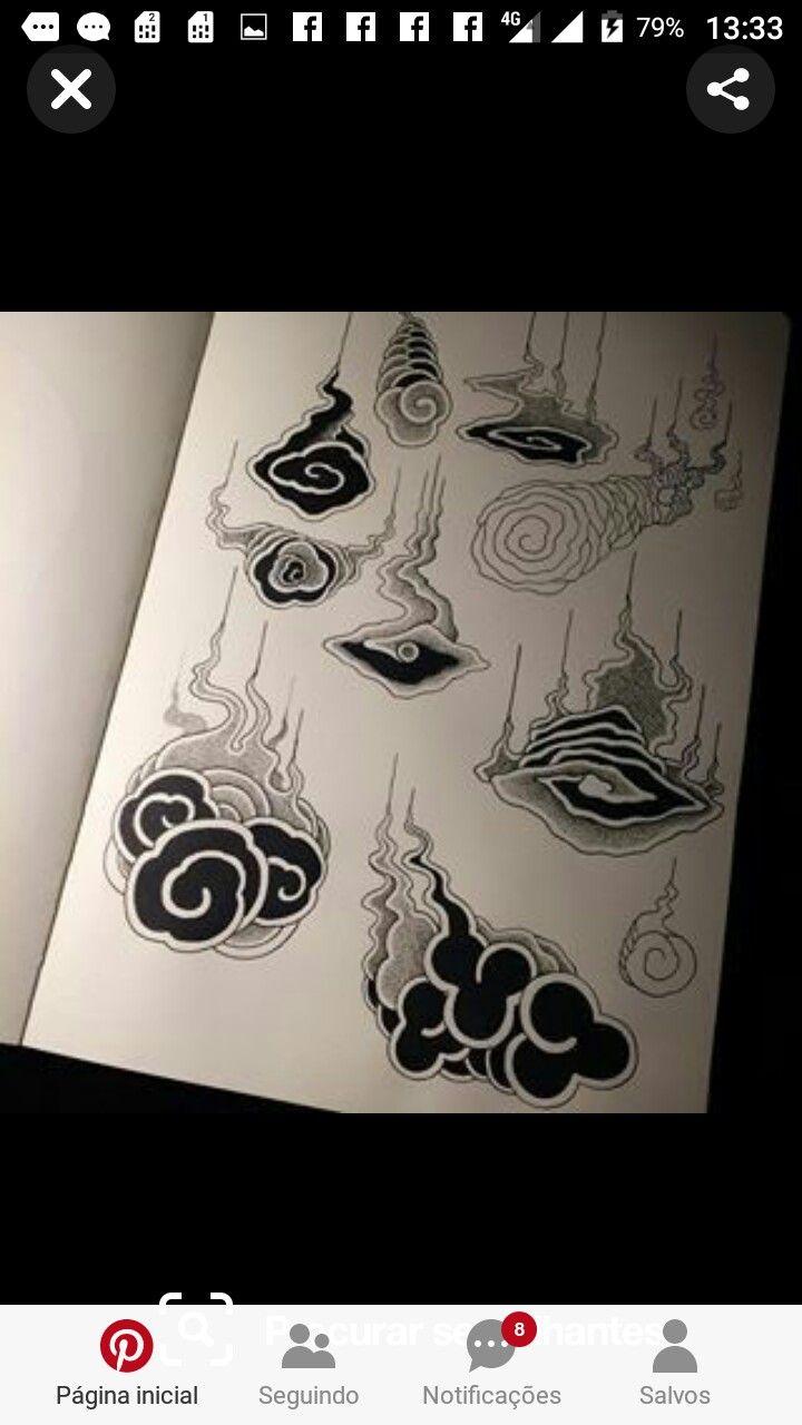 Pin By Neta New Eldar On Tattoo Japan Tattoo Design Cloud Tattoo Japanese Tattoo Art