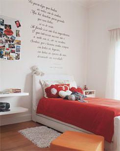 decoração de quarto pequeno feminino adolescente