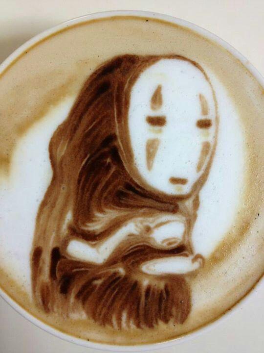 Anime LatteArt