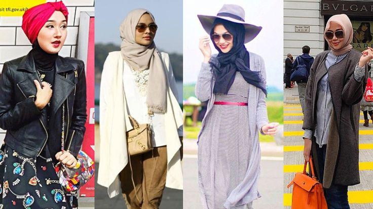 Inspirasi Hijab Fashion Untuk Kamu Yang Akan Liburan Ke Luar Negeri