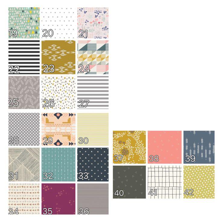 64 colores y prints para elegir Bebé niño niño con