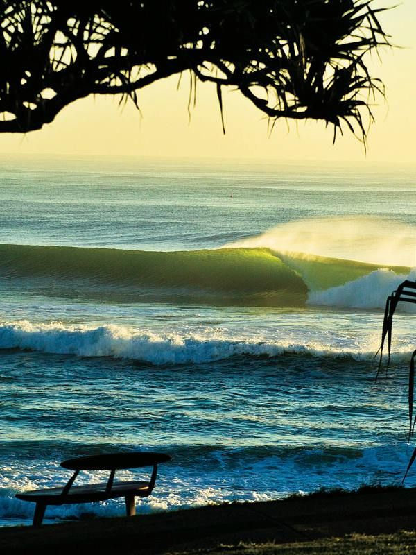 Burleigh Heads sunset, Australia