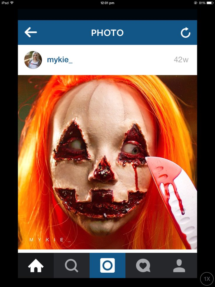 Absolute amazing makeup artist Glam and Gore/Mykie