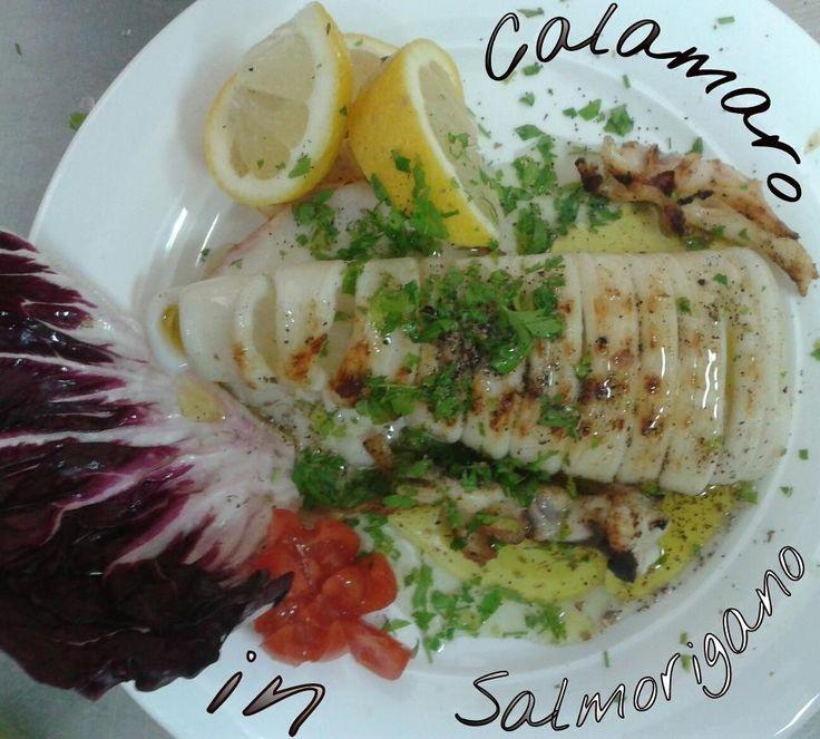 Calamaro in Salmorigano
