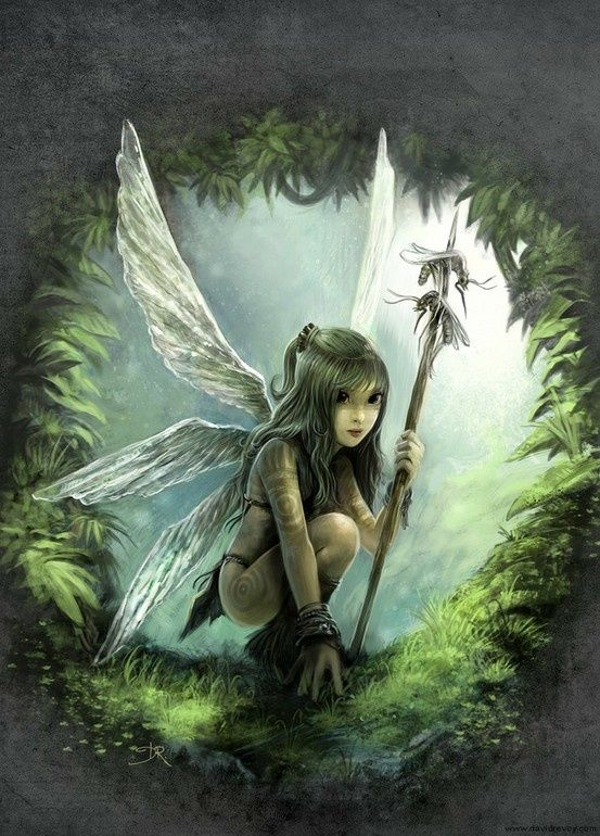 Sexy and Fairies on Pinterest