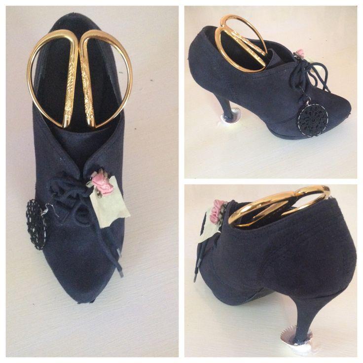 Ayakkabıdan kalemlik #kalemlik #ayakkabı