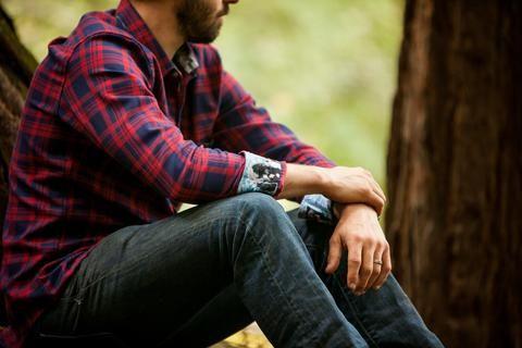 Men's Elli - River Red Flannel
