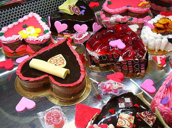 San Valentin Cakes