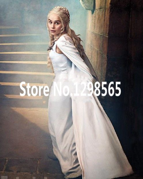 Cheap Custom Made New Daenerys Costume Targaryen Dress Season 5 Cosplay Targaryen Costume halloween costumes for women, Compro Qualità Abbigliamento direttamente da fornitori della Cina: Custom Made New Daenerys Costume Targaryen Dress Season 5 Cosplay Targaryen Costume halloween costumes for women