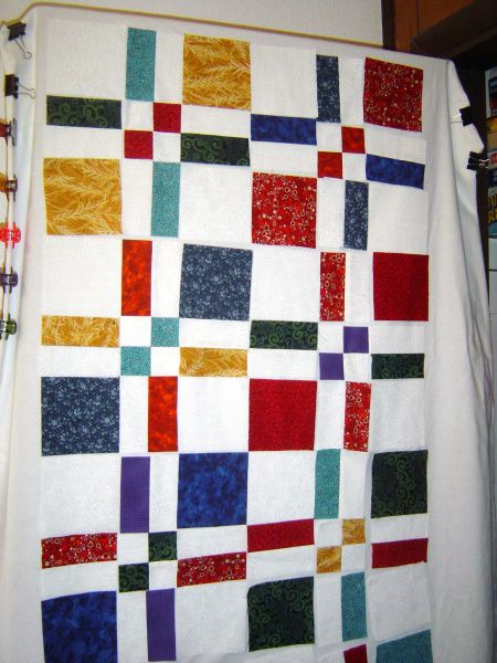 disappearing 4 patch | Scientific Quilter