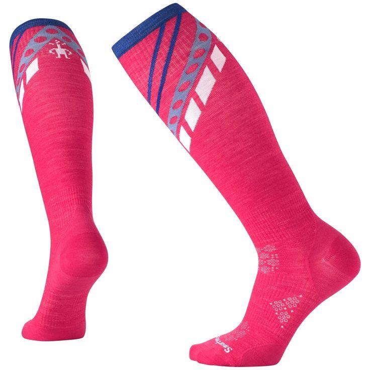 Smartwool PhD Ski Ultra Light Pattern Socks – Women's