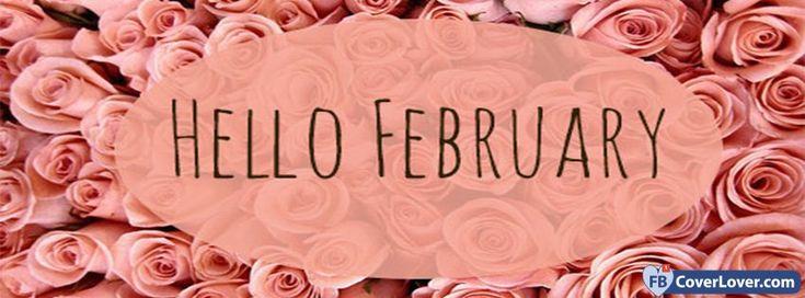 Hello February Roses - cover photos for Facebook - Facebook cover photos - Facebook cover photo - cool images for Facebook profile - Facebook Covers - FBcoverlover.com/maker